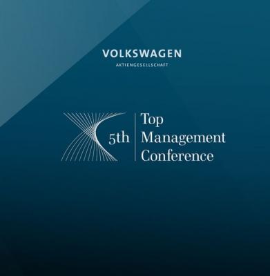 16 Volkswagen AG, Event App für Managementkonferenz