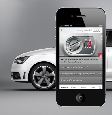 07Audi AG, e-Handbuch für Audi A1