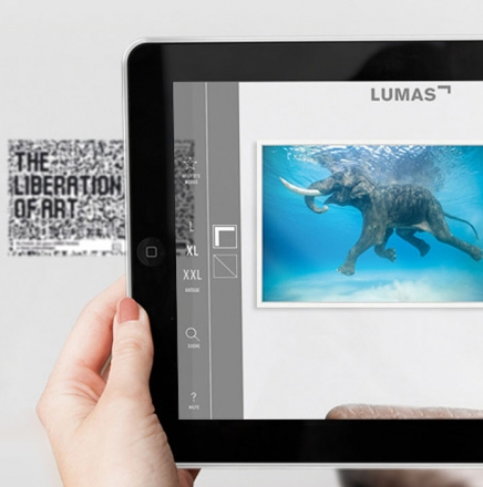 12 LUMAS Augmented Reality Bildergalerie App